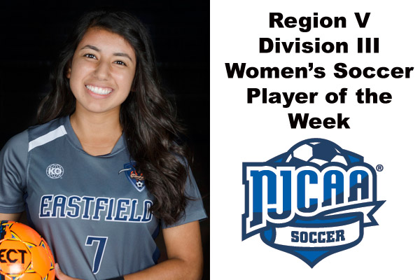Region V Division III Women's Soccer Player of the Week (Sept. 24-30)