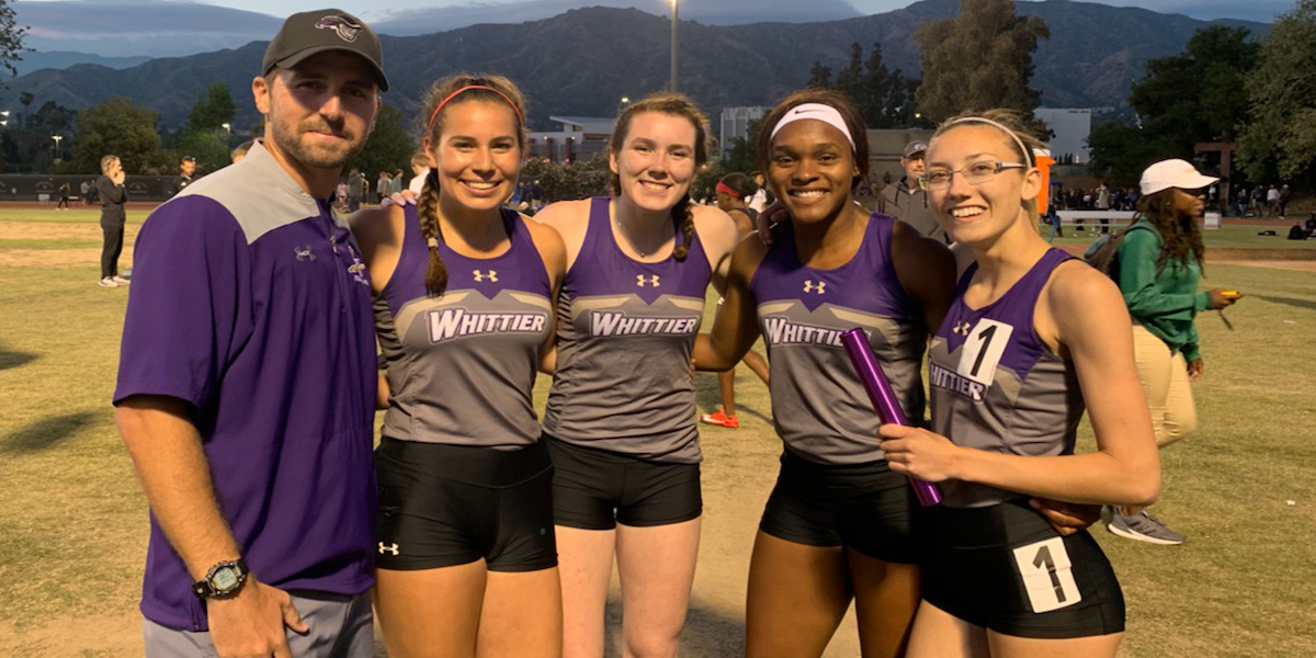 Track & Field: 4x400m Relay Shatters School Record at Bryan Clay Invite