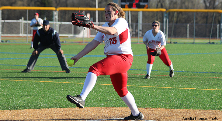 Canton Bounces Past Wells Softball