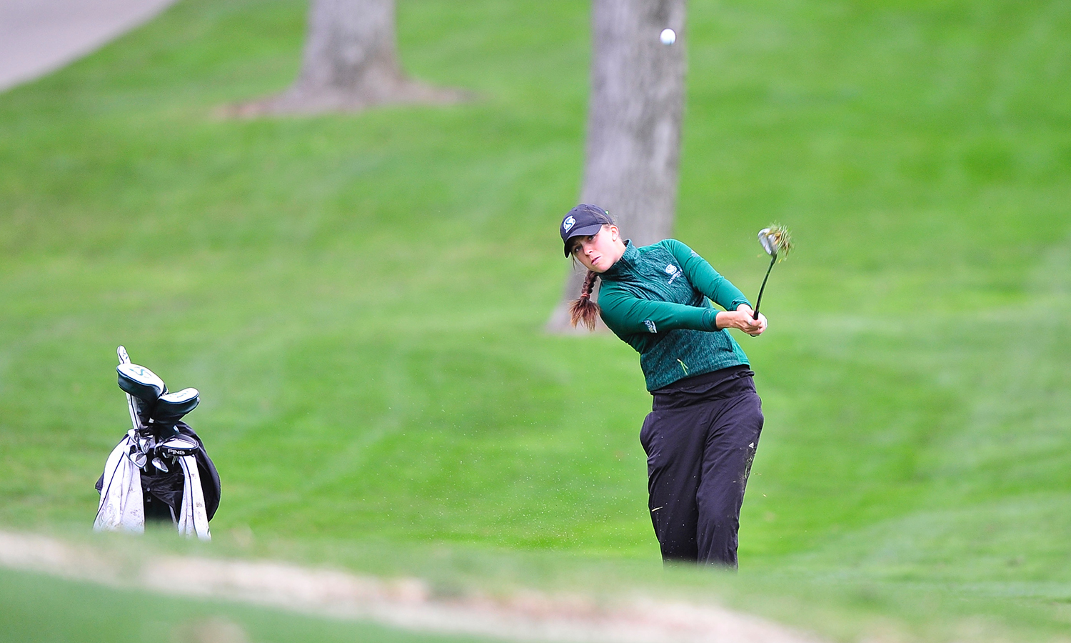 WOMEN'S GOLF MATCHES SCORE AT GOLFWEEK CONFERENCE CHALLENGE, VIDEN SHOOTS 73