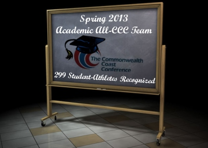 CCC Spring 2013 Academic All-Conference Team Announced