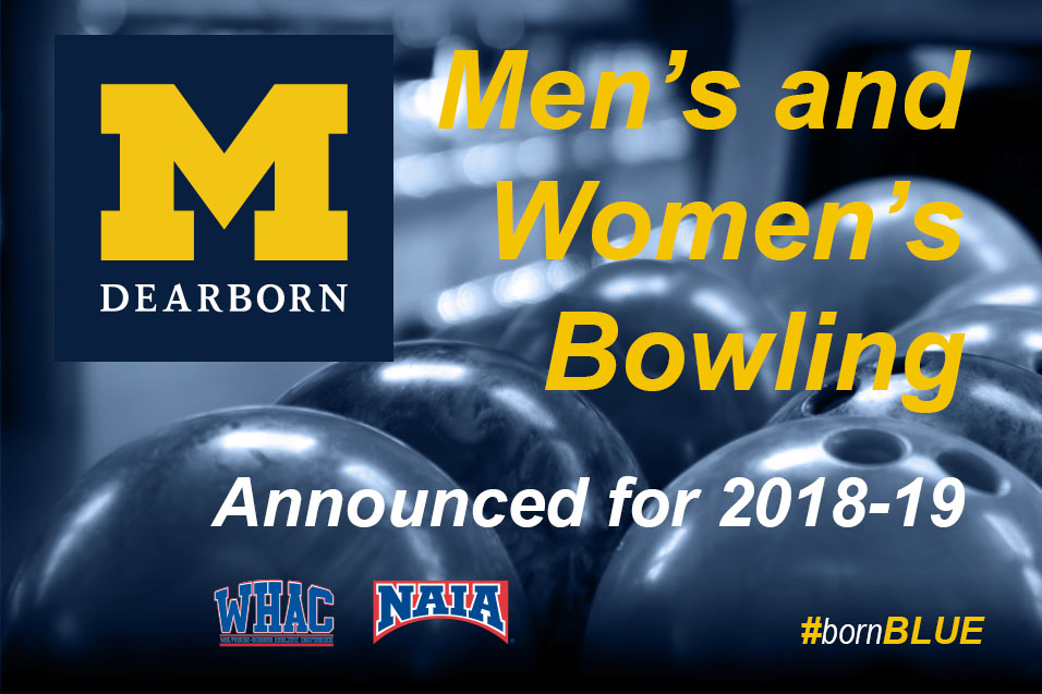 Photo for UM-Dearborn adds men's and women's bowling for 2018-19