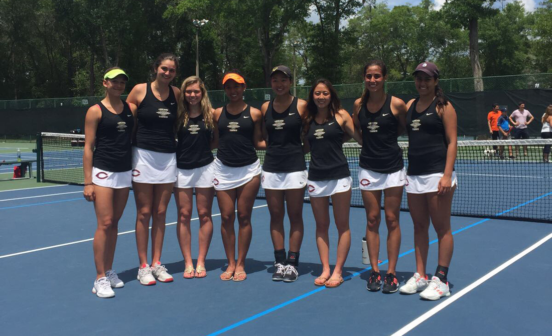 Maroon women's tennis hangs with Emory, finishes second at UAA Championship