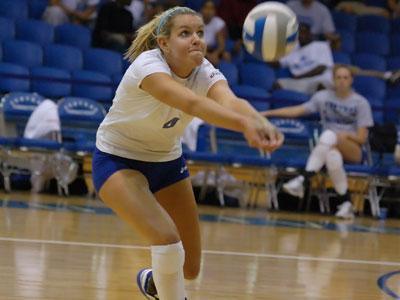 CCSU Falls in Five Sets to Sacred Heart