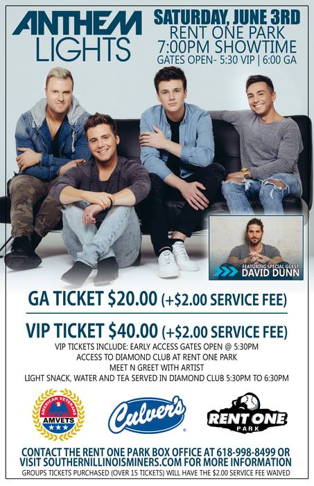 Anthem Lights To Perform At Rent One Park