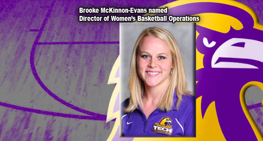 Jim Davis names Brooke McKinnon-Evans as Director of Women's Basketball Operations