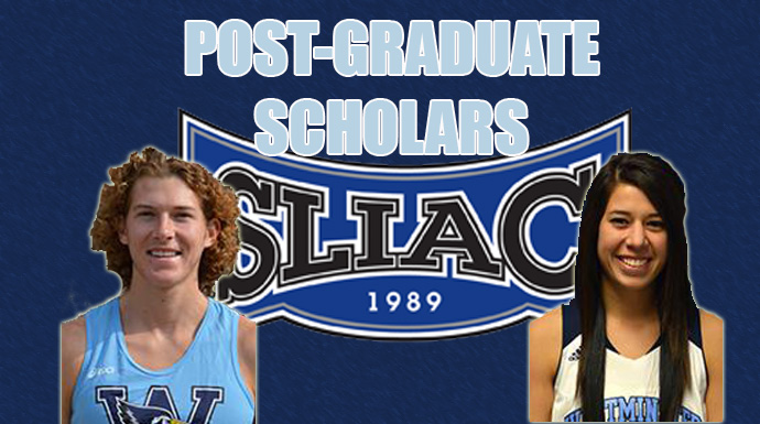 Westminster Sweeps SLIAC Post-Graduate Honors; Teubner and Zalis