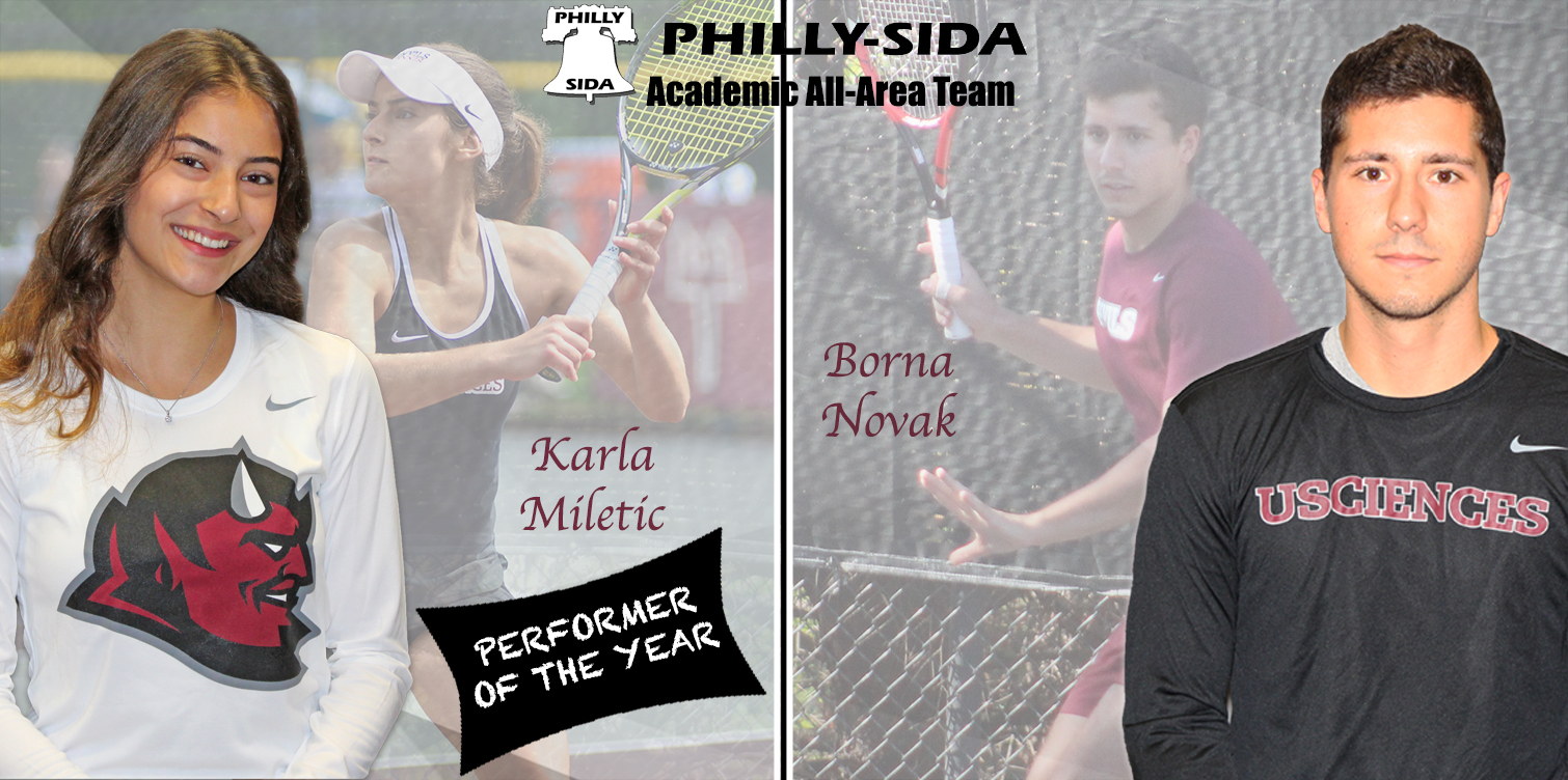 Miletic and Novak Voted on to Philadelphia Inquirer Academic All-Area Team; Miletic Named Performer of the Year