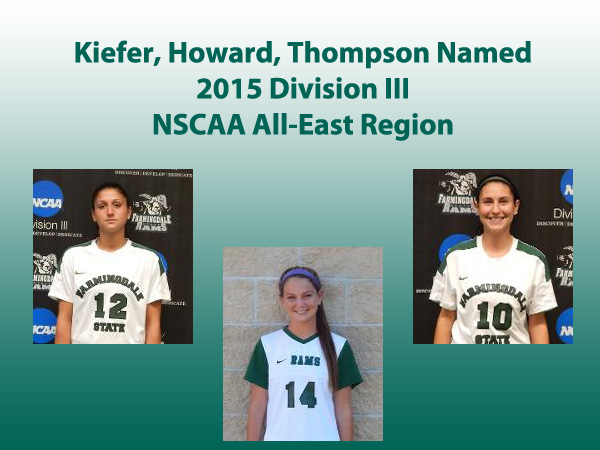 Kiefer, Thompson and Howard Named All-East Region