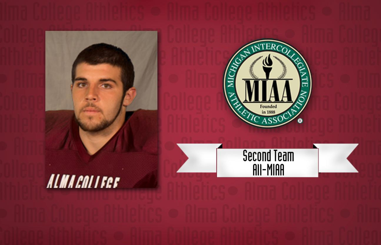 Scots Defensive Lineman Frank Furnari named to the Football All-MIAA Second Team