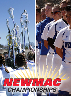 Blue Softball/Lacrosse Qualify for NEWMAC Tournament