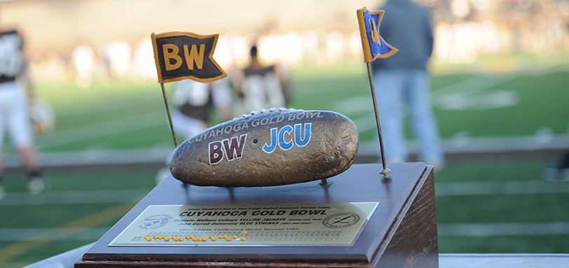 Football Opens OAC Play at John Carroll in 28th Battle for the Cuyahoga Gold Bowl Trophy