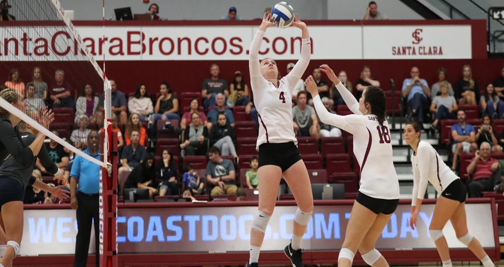 Volleyball Swept by Pepperdine Saturday at Home