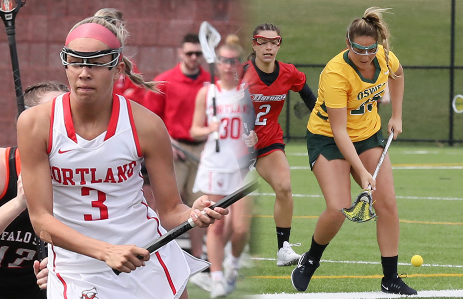 SUNYAC selects Women's Lacrosse Athletes of the Week