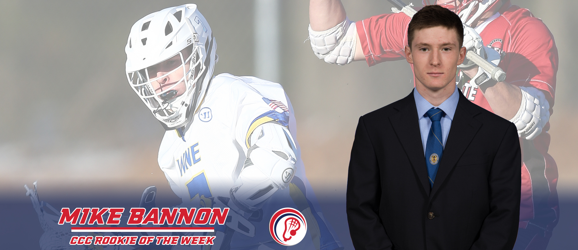 Mike Bannon Receives Third Consecutive CCC Rookie of the Week Award