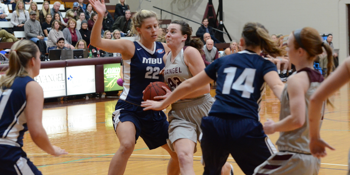 Evangel Women Run Past Missouri Baptist 80-59