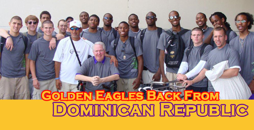 Experience in Dominica should help Golden Eagles on court in 2010-11
