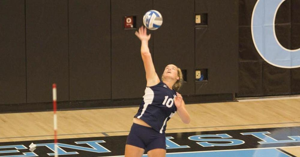 GaNun Slams 27 Kills as Women's Volleyball Pushes Maritime to the Limit