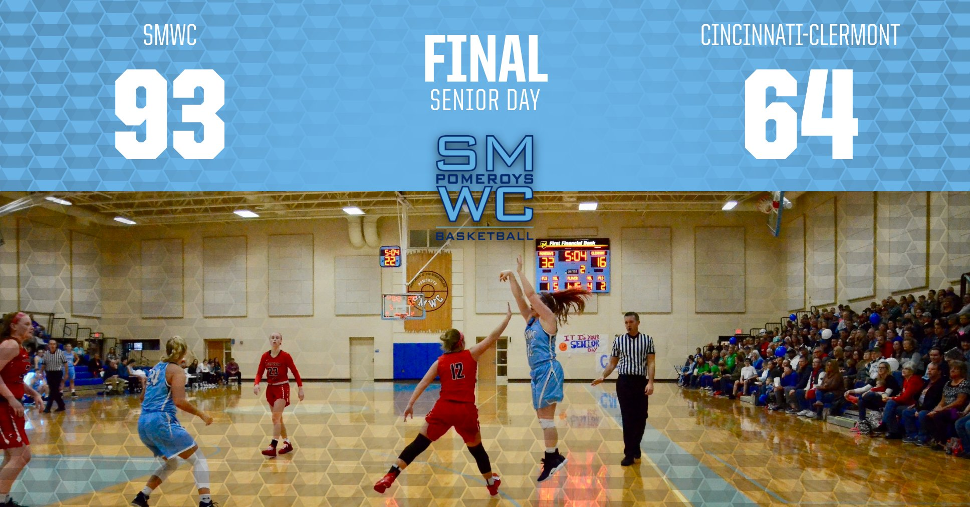 The Pomeroys Are Victorious; Callan Taylor Sent Out In Fashion on Senior Day
