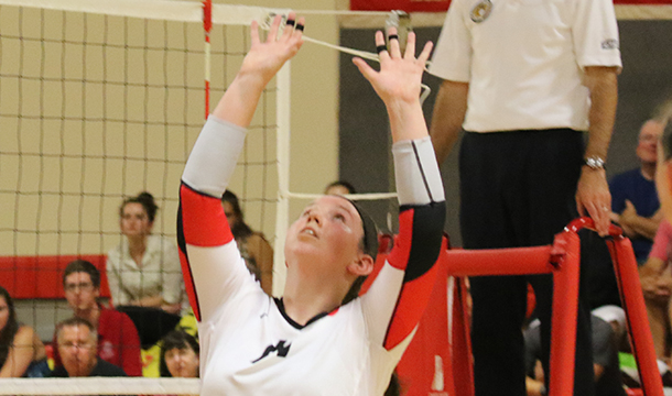 Eagles Soar By Volleyball, 3-1
