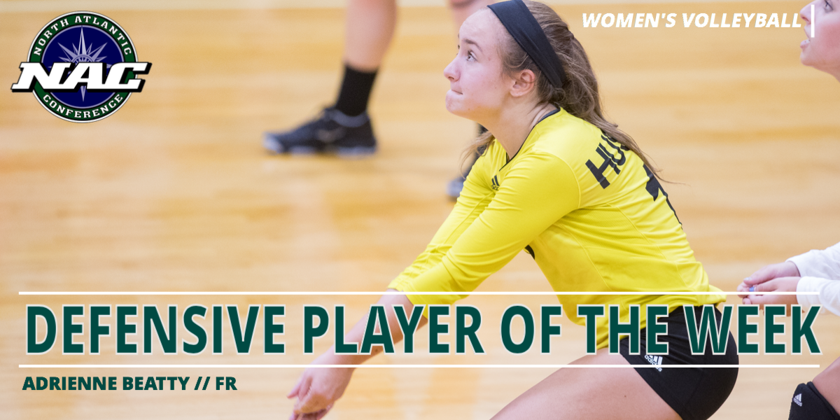 Beatty Earns First NAC Defensive Player of the Week Award