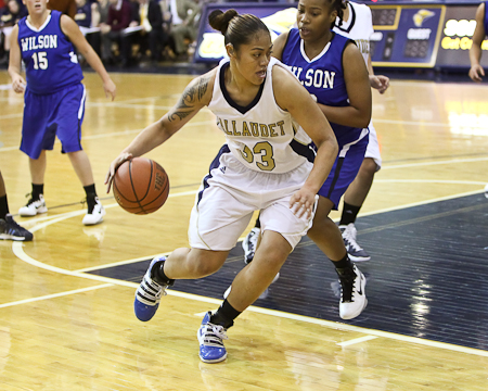 Gallaudet impressive in NEAC women's basketball debut