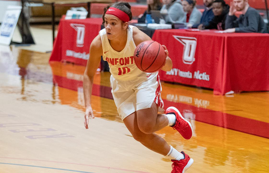 Oneonta's Amalbert selected as SUNYAC Women's Basketball Athlete of the Week