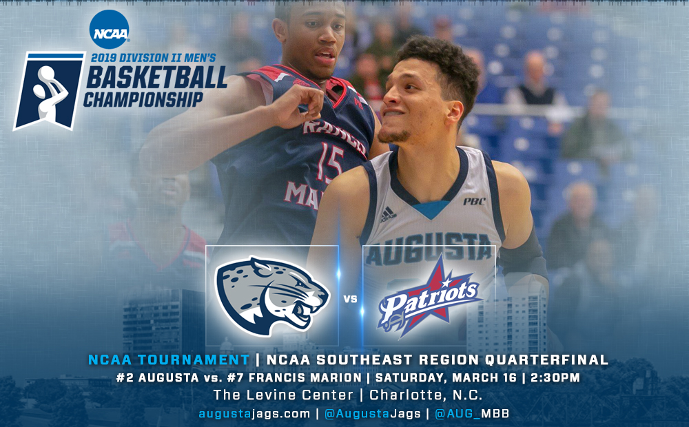 No. 16 Jags Face Francis Marion In NCAA Southeast Region Quarterfinal March 16