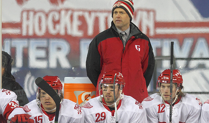 Detroit Red Wings Sign Ferris State Hockey Alum Jeff Blashill To New Three-Year Coaching Contract