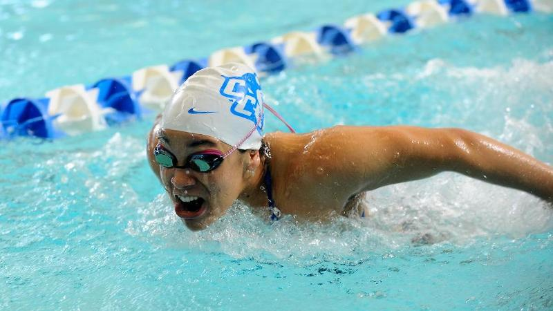 Thomas Breaks Freshman Record at NECs Day Three