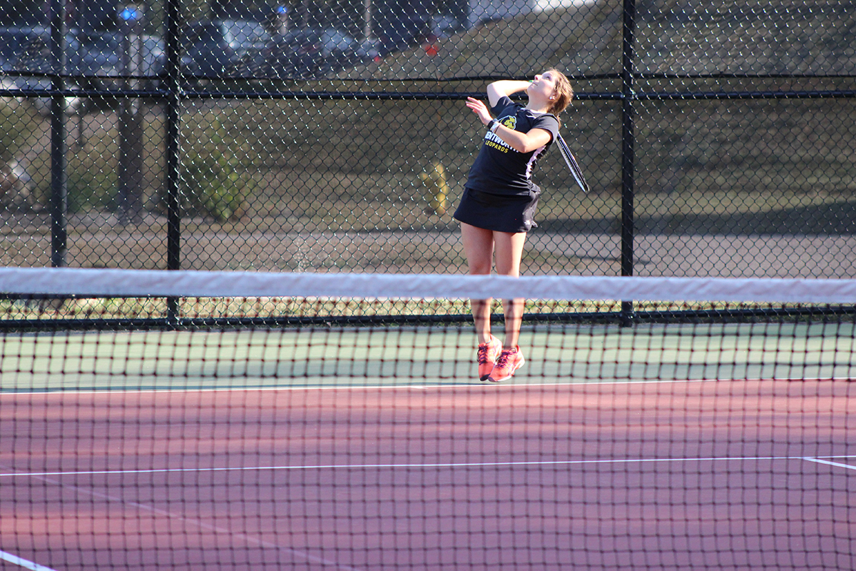 Women's Tennis Falls at Endicott