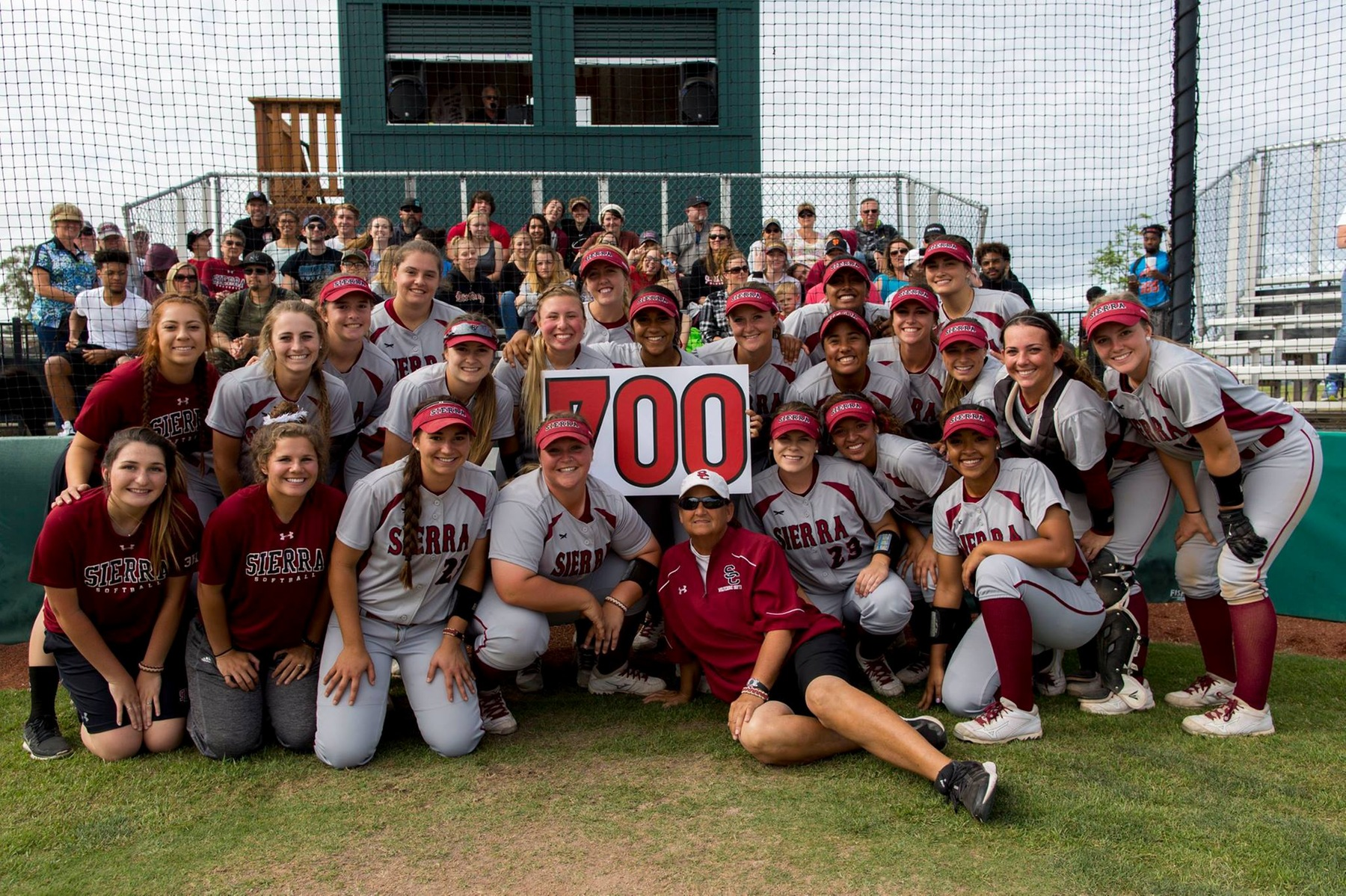 Darci Brownell Captures 700th Career Win at Sierra College.