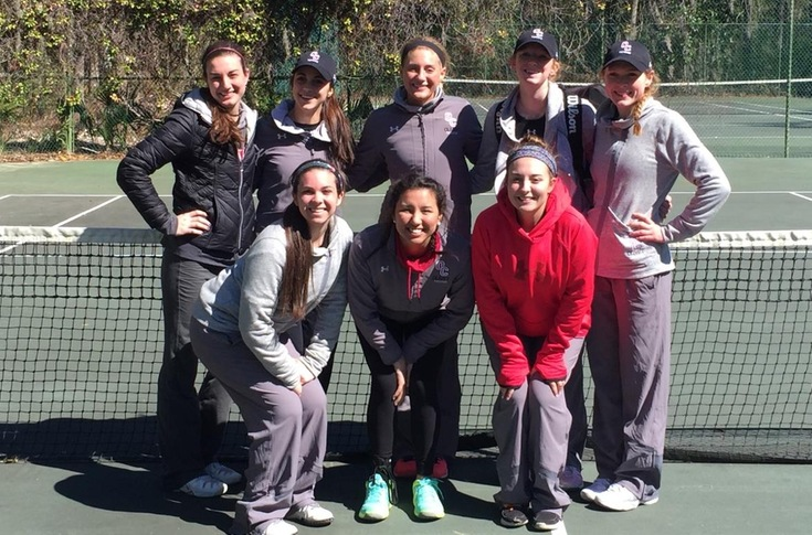 Women's tennis team defeats Marietta, 8-1