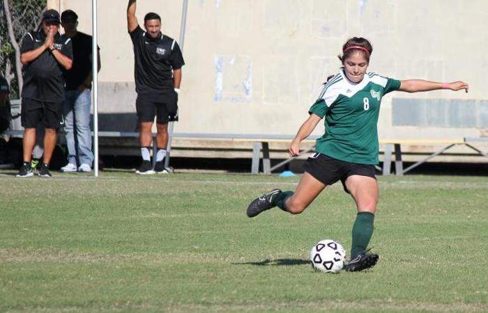 Women's Soccer Sweeps Santa Ana