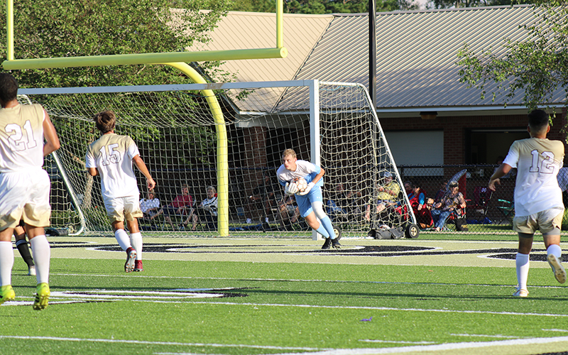 Visiting Holmes Takes Soccer Win over Warriors