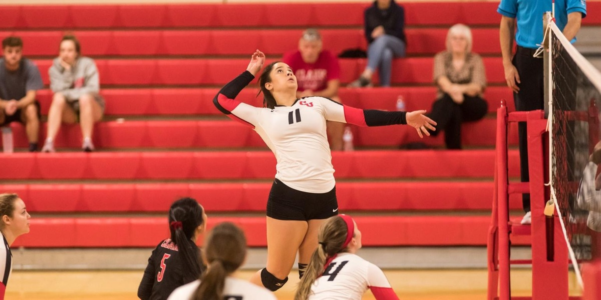 Volleyball Suffers Road Loss at Amherst College