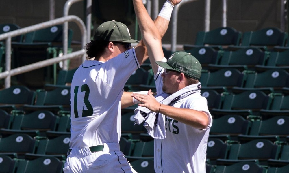 BASEBALL ROUTS CSU BAKERSFIELD IN SEVEN INNINGS VIA MERCY RULE IN WAC TOURNAMENT