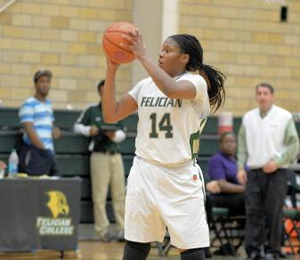 Felician dropped its home opener on Nov. 19, 2014, despite 16 points and 13 rebounds from Ashley Morris. (Steven R. Smith)