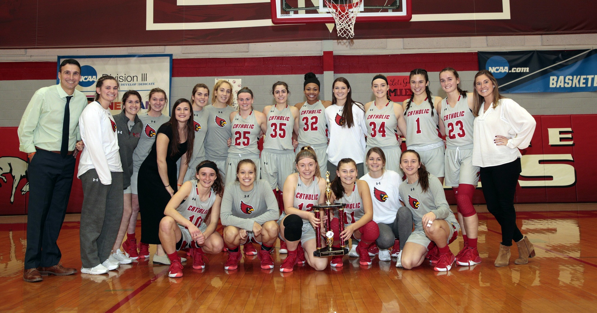 Cardinals Capture Second-Straight Tournament Title