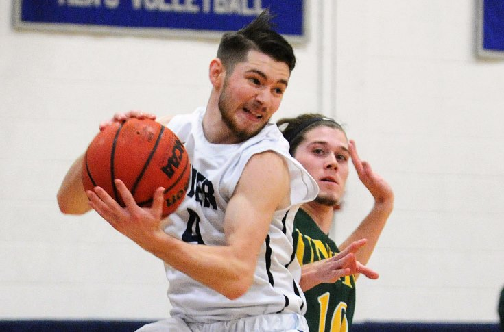 Men's Basketball: Raiders fall to Mount Ida at home, 97-81