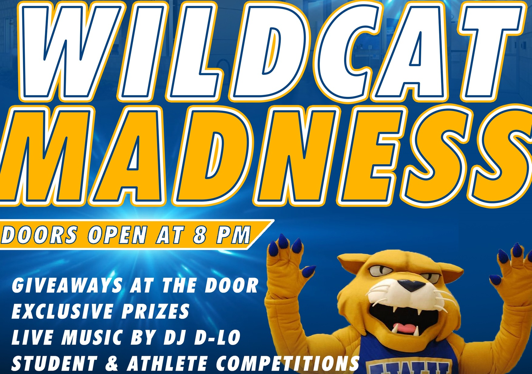 JWU's Wildcat Madness Is October 10th