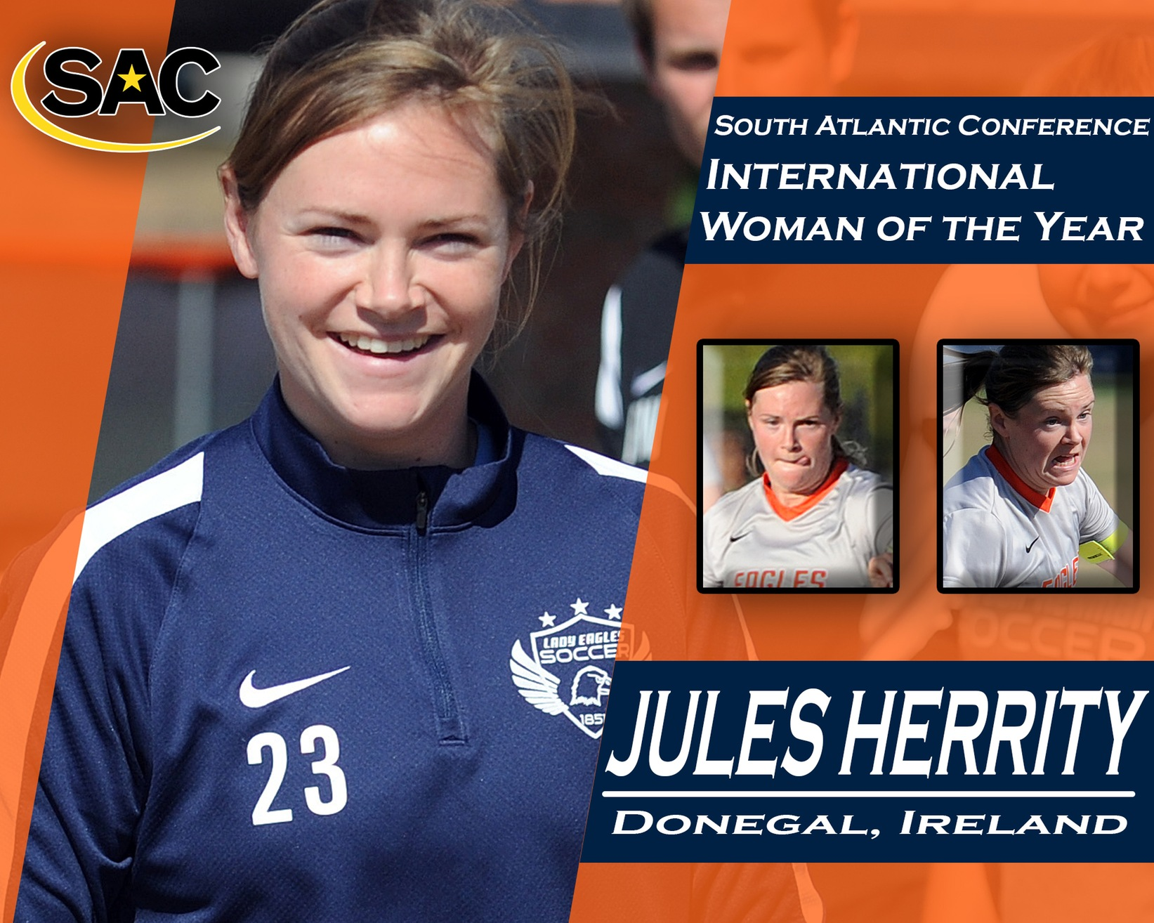 Herrity named International South Atlantic Conference Woman of the Year