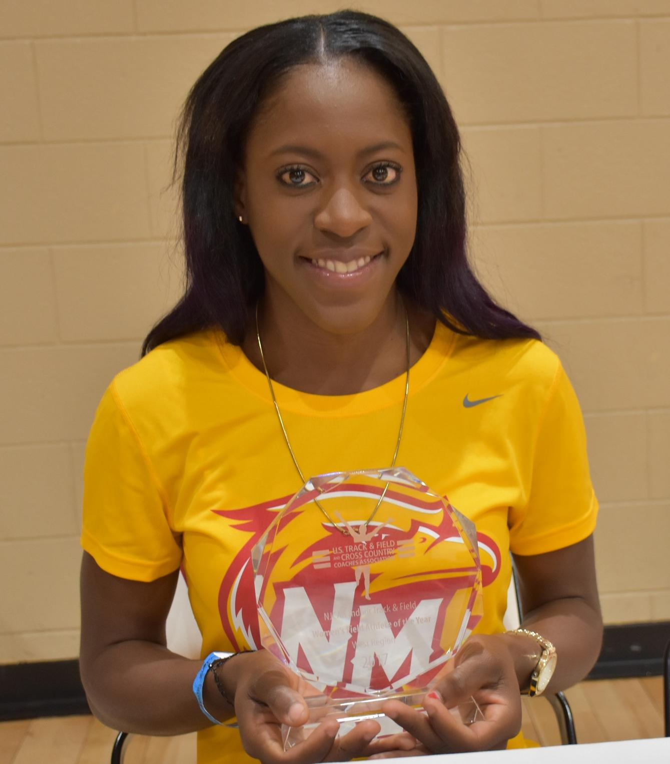 USTFCCCA Feature Friday- NMJC's Latavia Coombs