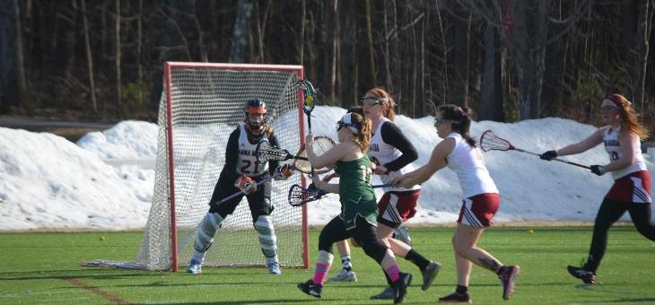 Women's Lacrosse: AMCATS Downed by Cadets