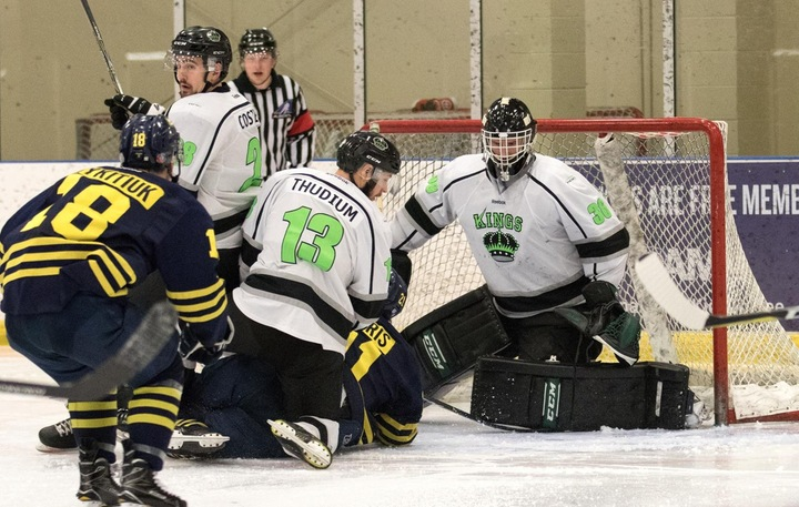 The RDC Kings picked up their second win in as many games against the NAIT Ooks. Photo - Tony Hansen