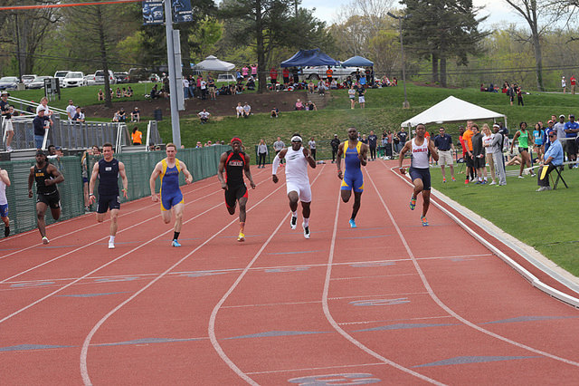 Williams Qualifies for 100m Dash Finals at ECAC Championships