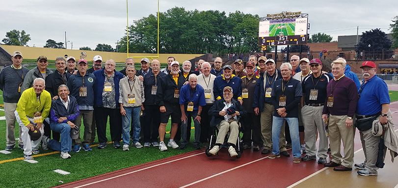 Members of the 1968 OAC Football Championship Team
