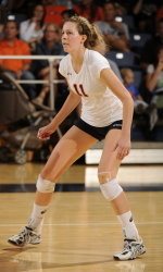Three Volleyballers Earn Big West Honors