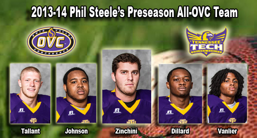 Five Golden Eagles earn preseason all-OVC recognition