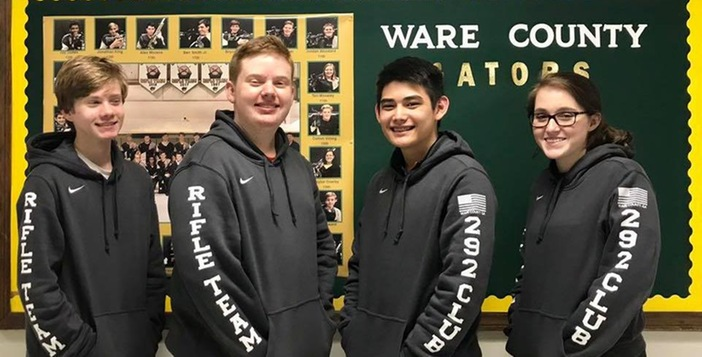Ware County Rifle Team Wins 89th Consecutive Match